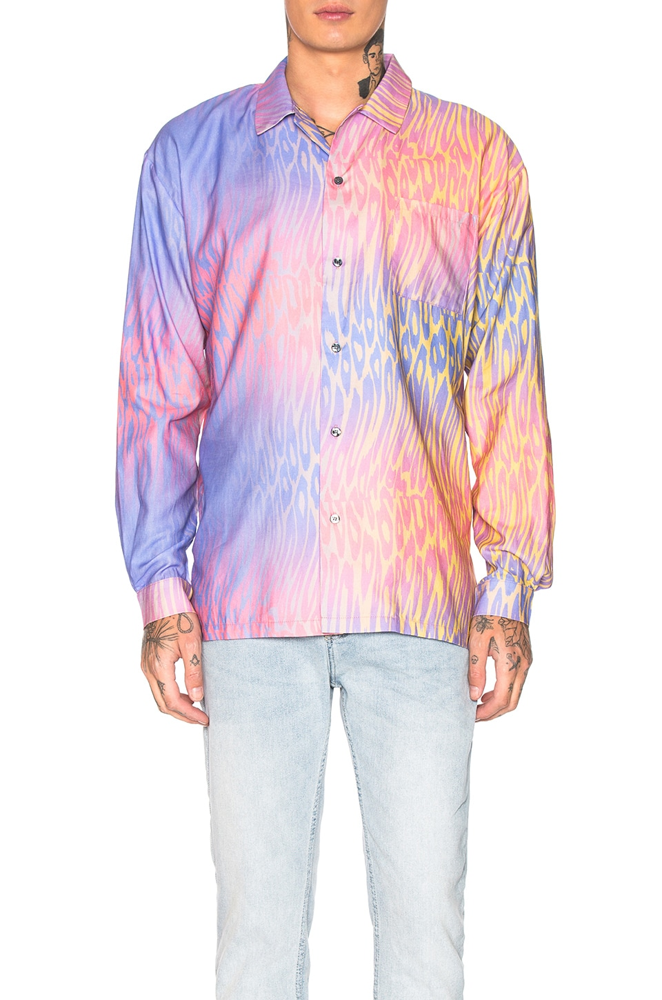 DOUBLE RAINBOUU CAMISA PRINTED