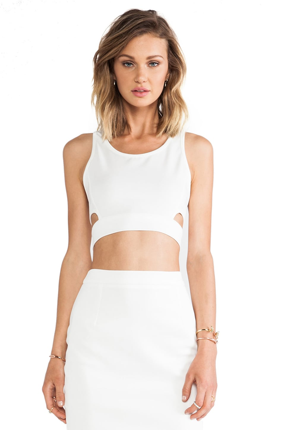 d.RA Spencer Top in White
