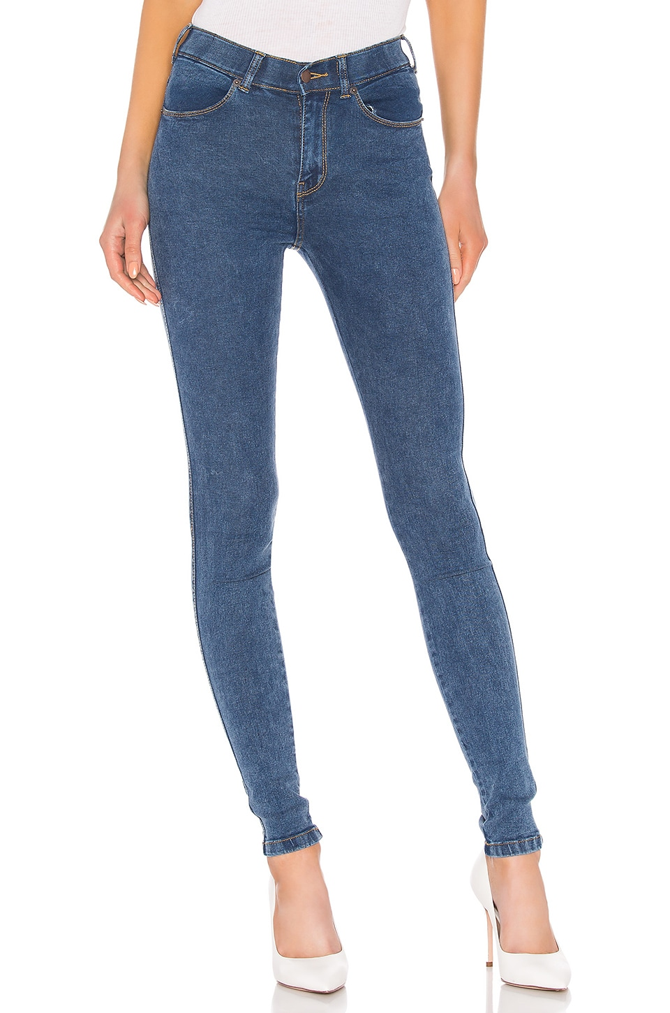 Dr. Denim Lexy Skinny in 70s Stone