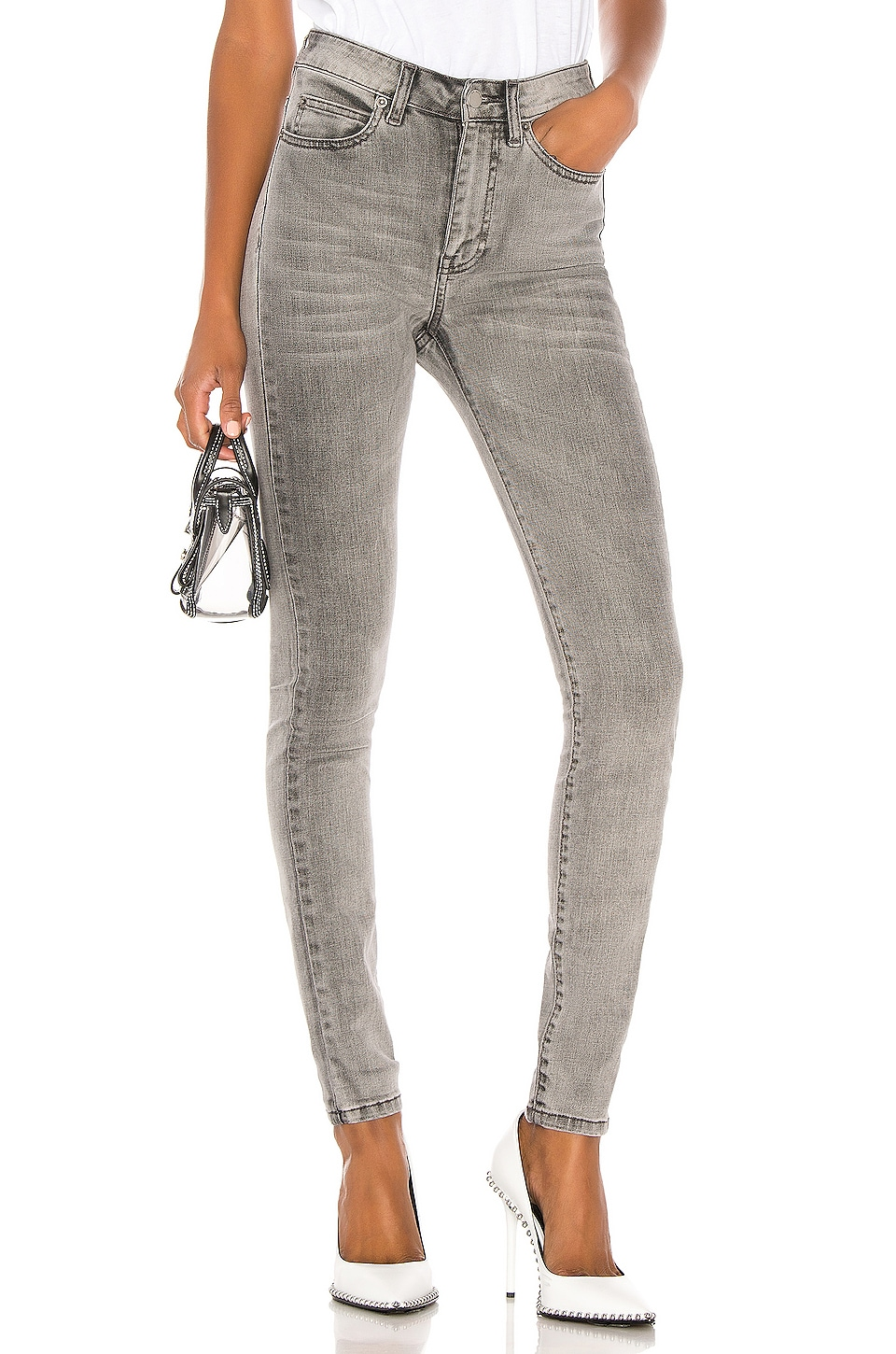 Dr. Denim Erin Skinny in Summer Grey