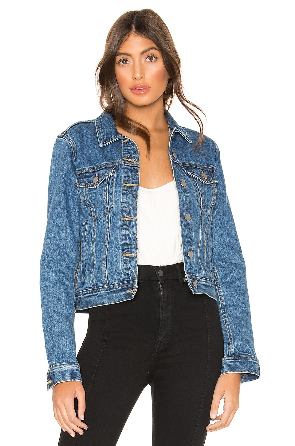 Dr. Denim Viva Trucker Jacket in City Blue