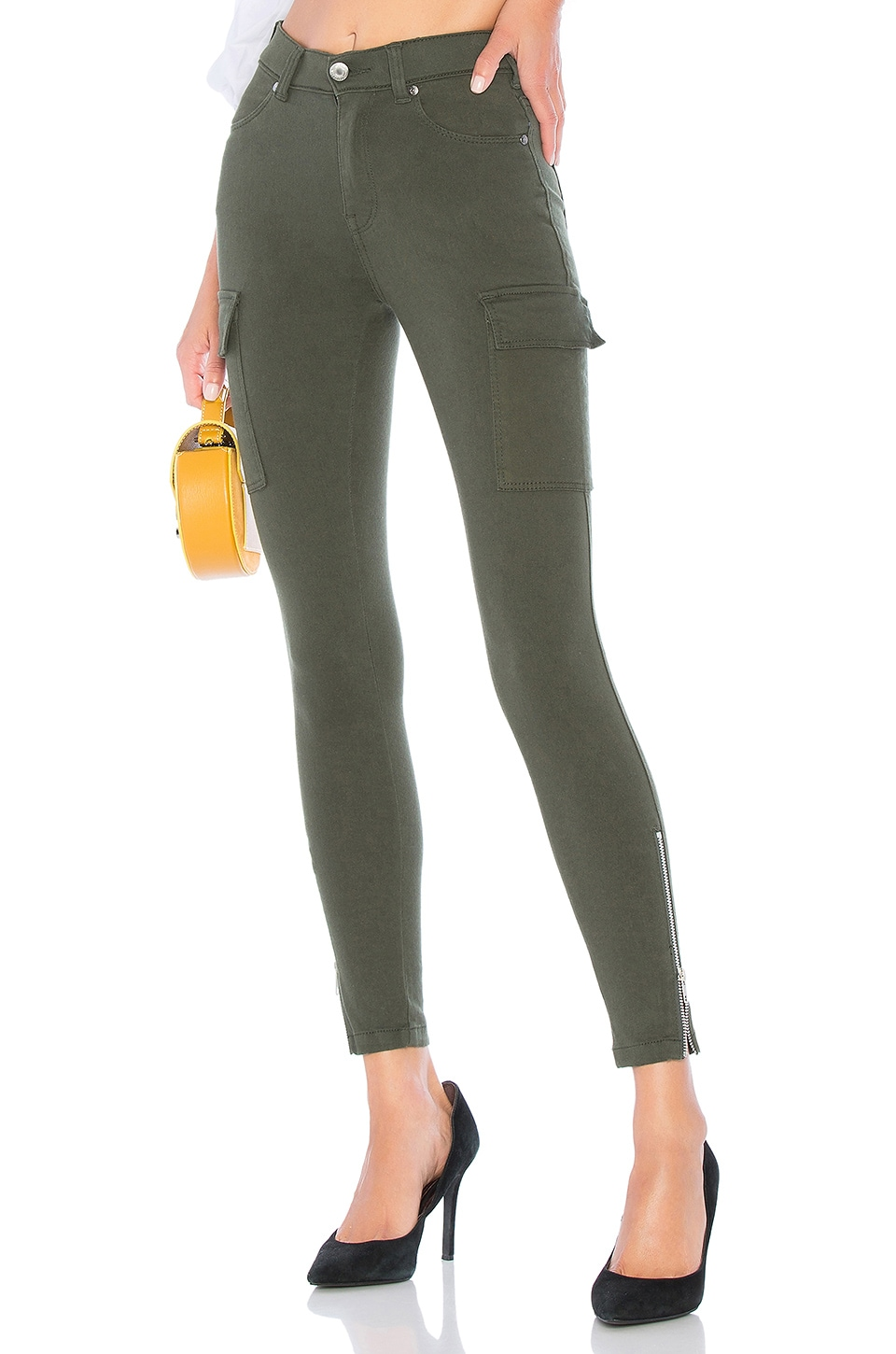 Dr. Denim Dezie Pant in Riot Green