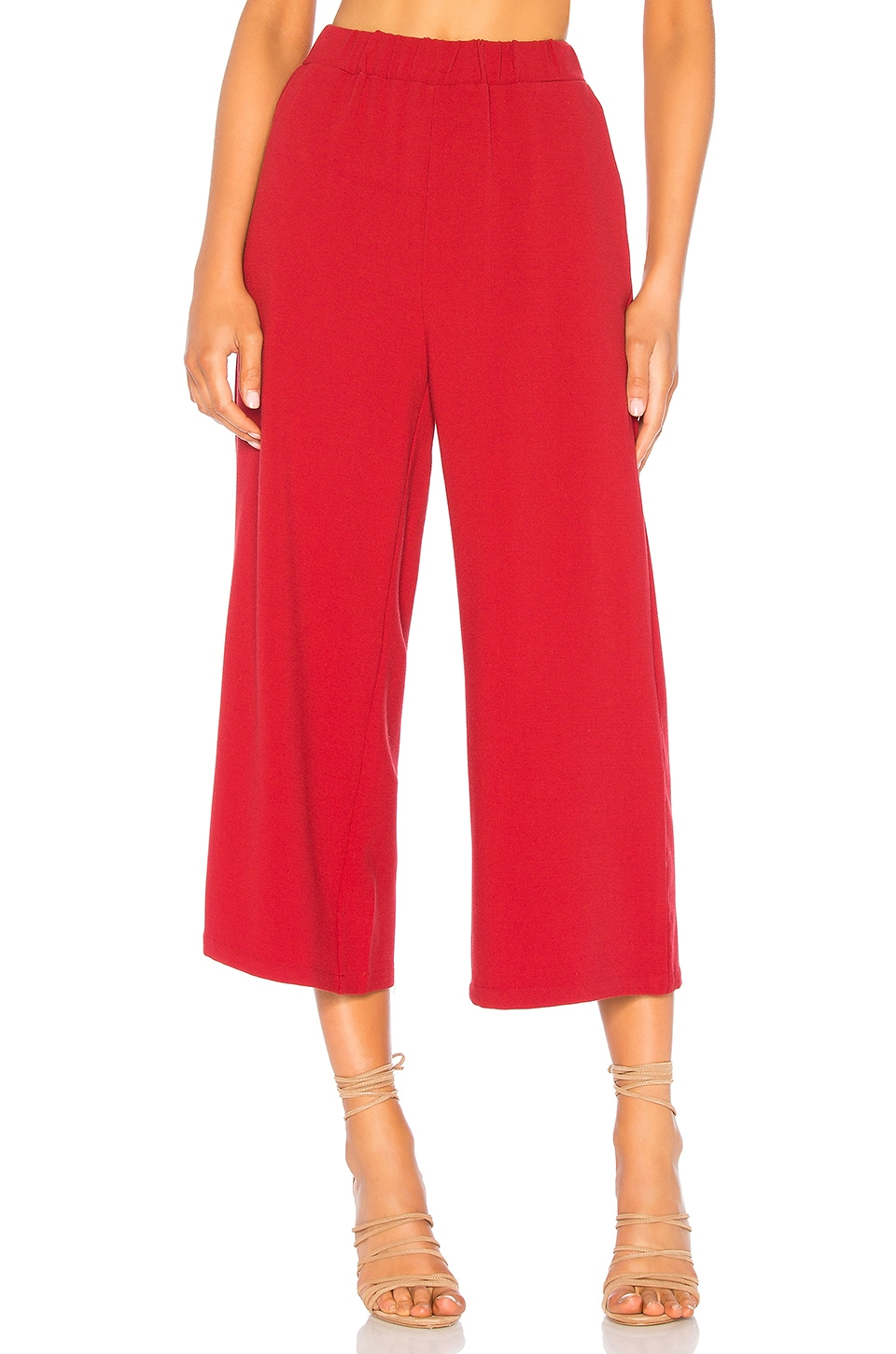 Dr. Denim Abel Trouser in Blood Red