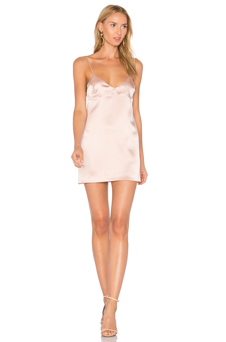 DREAM Lani Slip Dress in Rose
