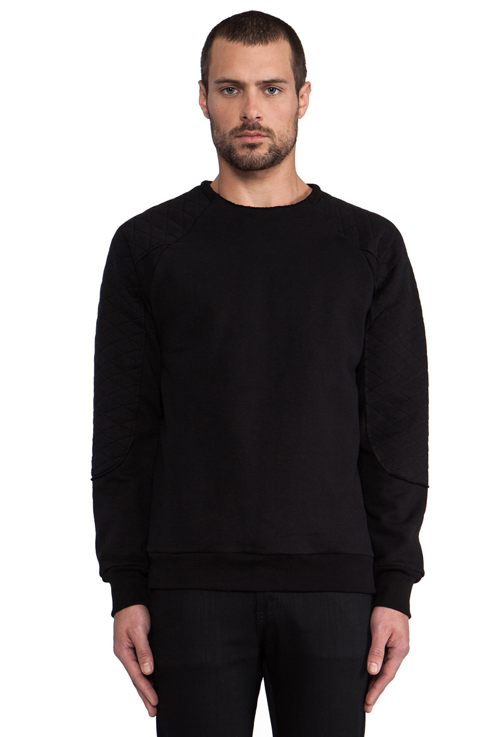 Drifter Corbin Sweatshirt in Black