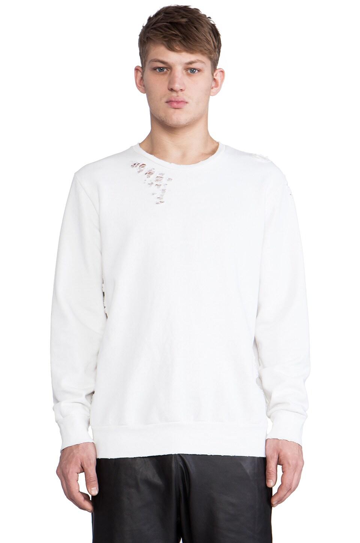 Drifter Brayden Pullover Sweatshirt in White