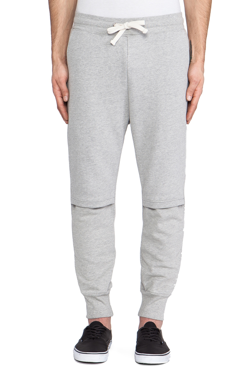 Drifter Cade Sweatpant in Heather Grey