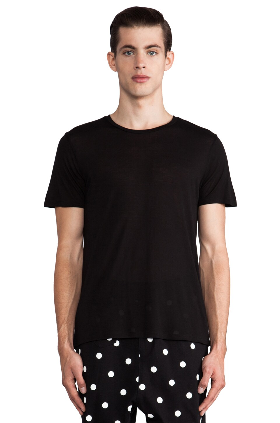 Drifter Felix Tee in Black