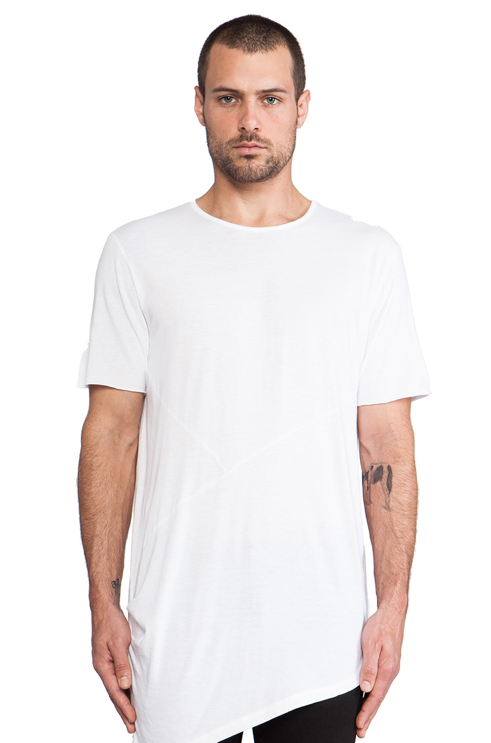 Drifter Russell Tee in White