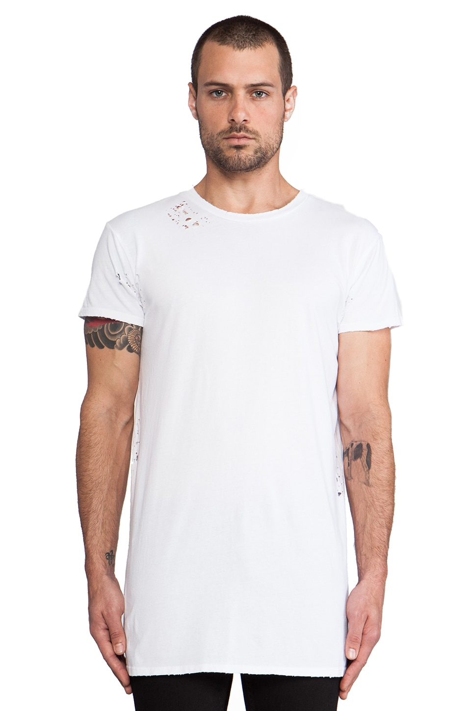 Drifter Cedric Tee in White
