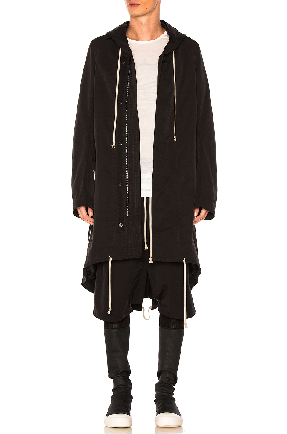 Fishtail Parka by DRKSHDW by Rick Owens