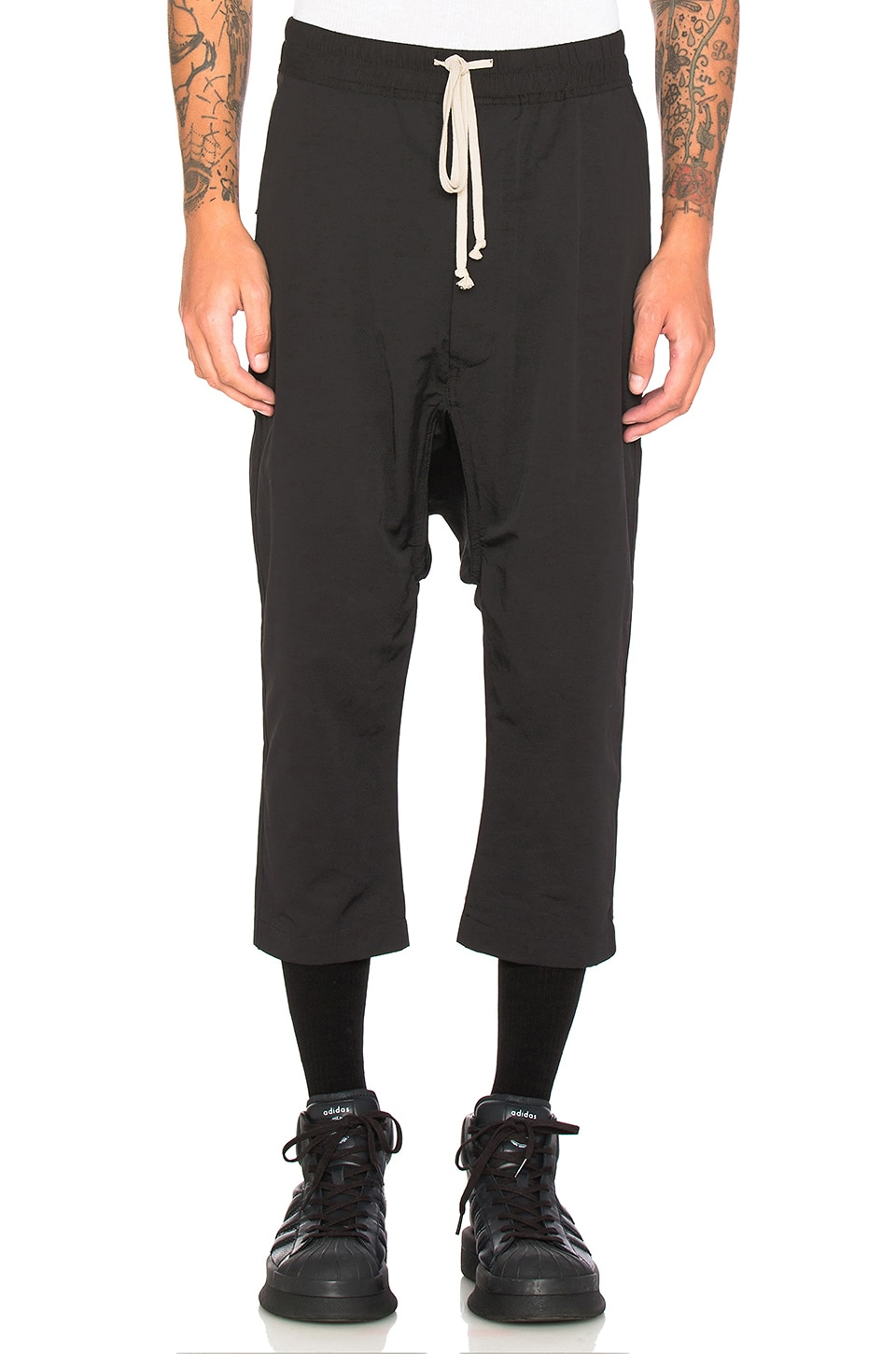 Cropped Sweatpant by DRKSHDW by Rick Owens
