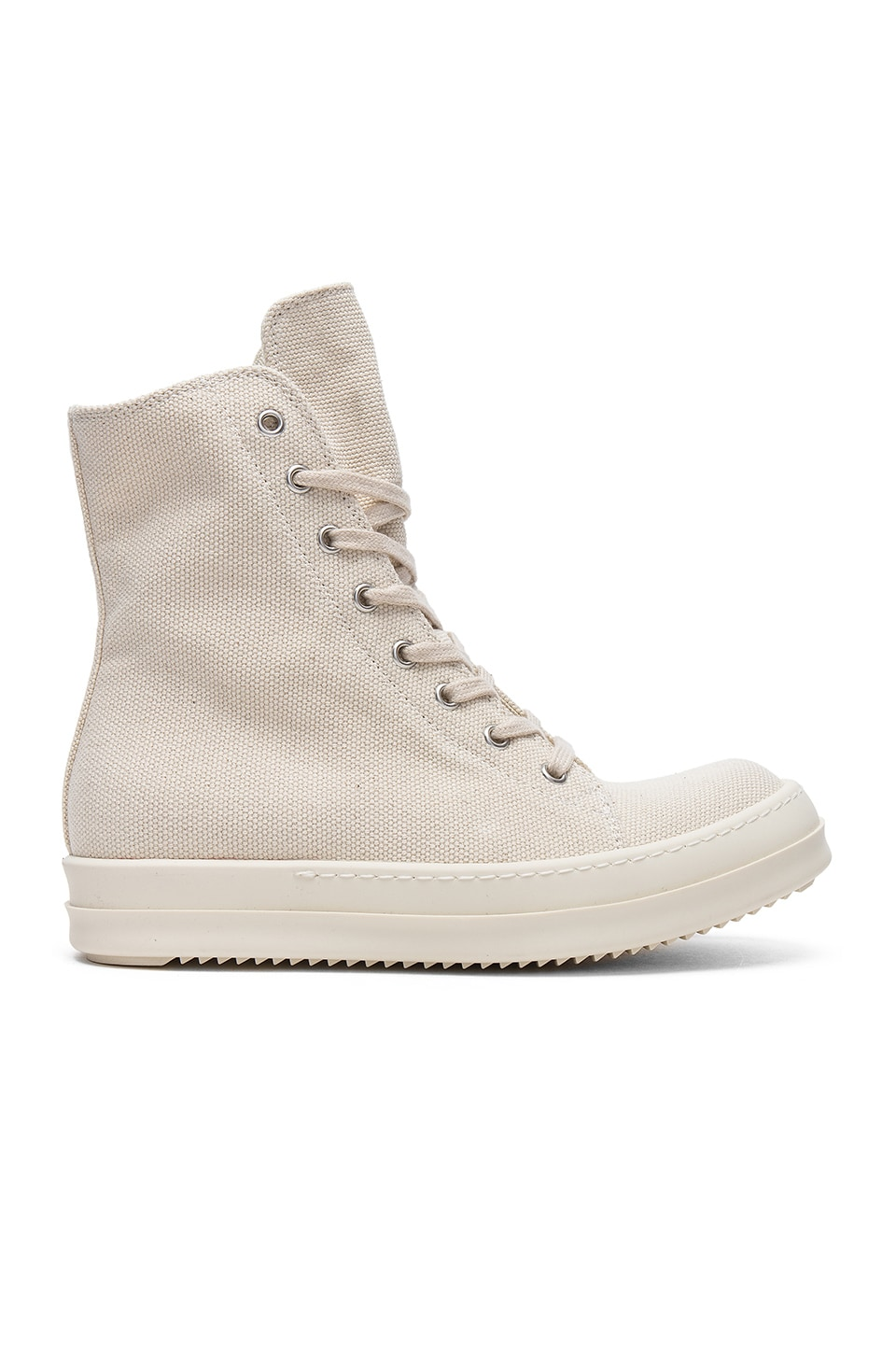 DRKSHDW by Rick Owens Vegan Sneakers in Cream