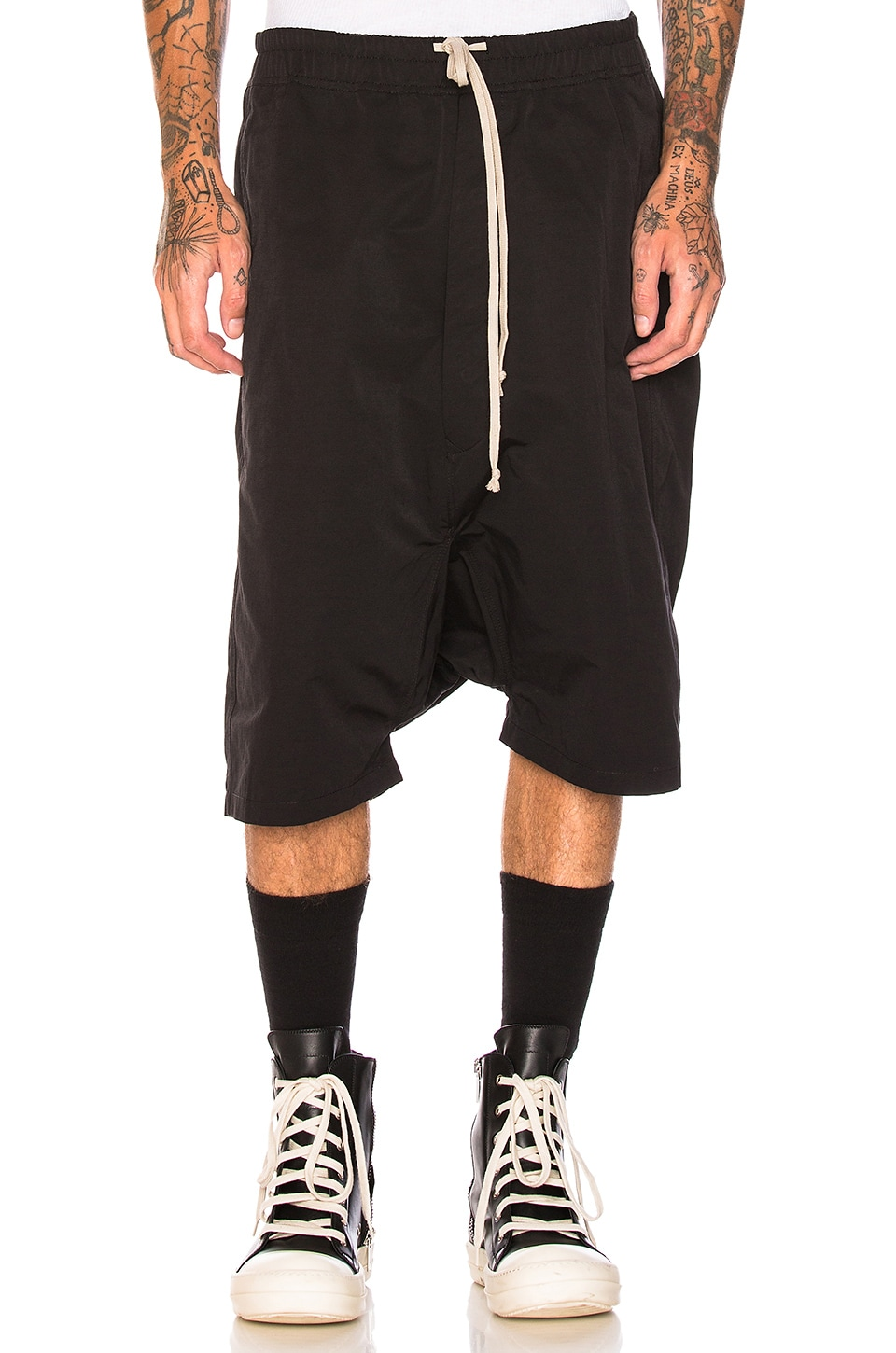 4b815f5b08 DRKSHDW by Rick Owens Pod Shorts in Black | REVOLVE