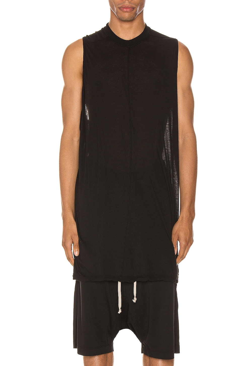 DRKSHDW by Rick Owens Rick's Tank in Black