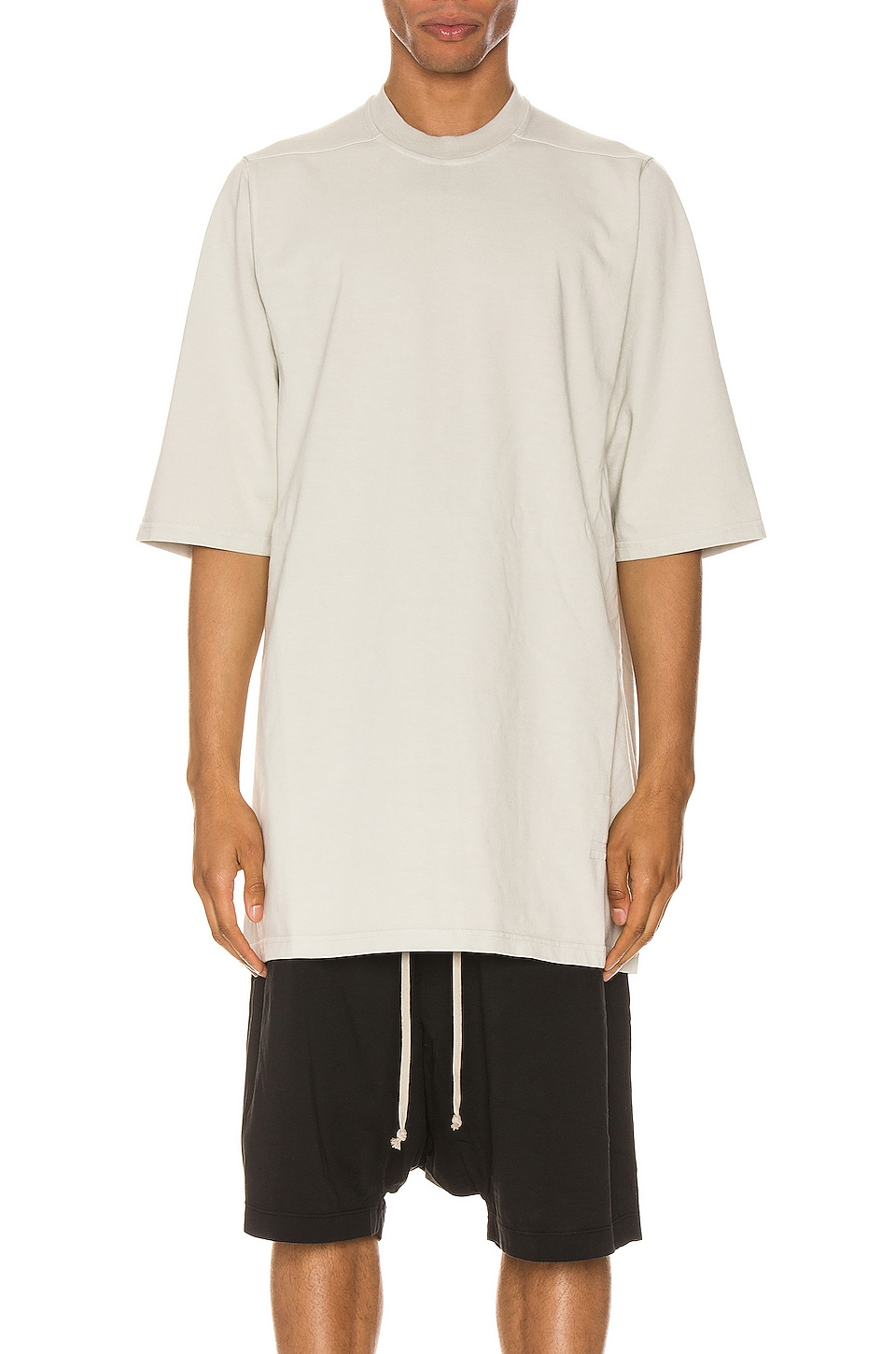 DRKSHDW by Rick Owens Jumbo Tee in Oyster
