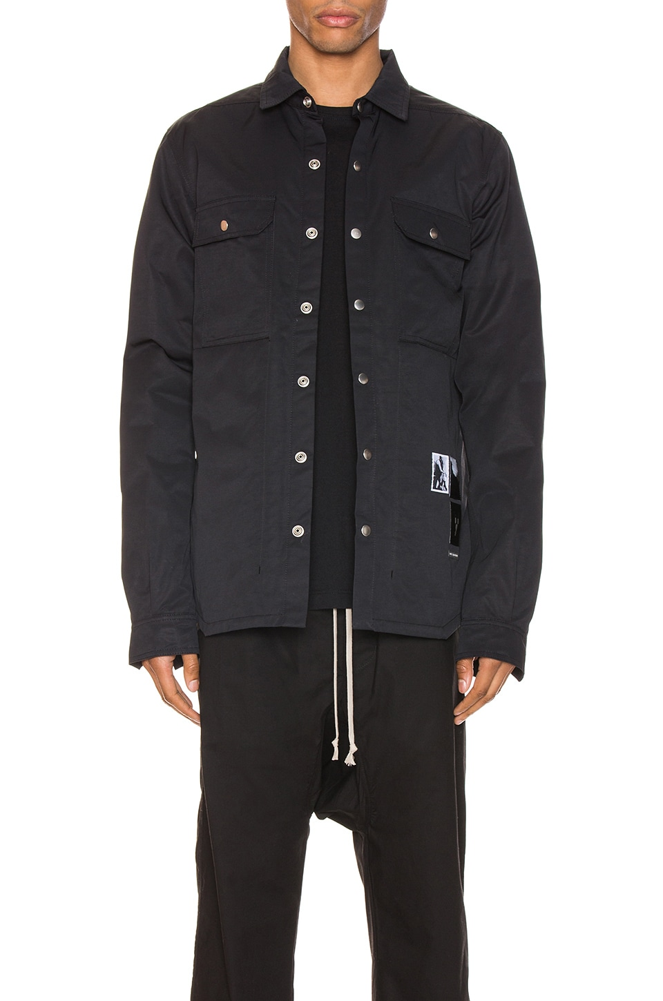 DRKSHDW by Rick Owens Outershirt in Black