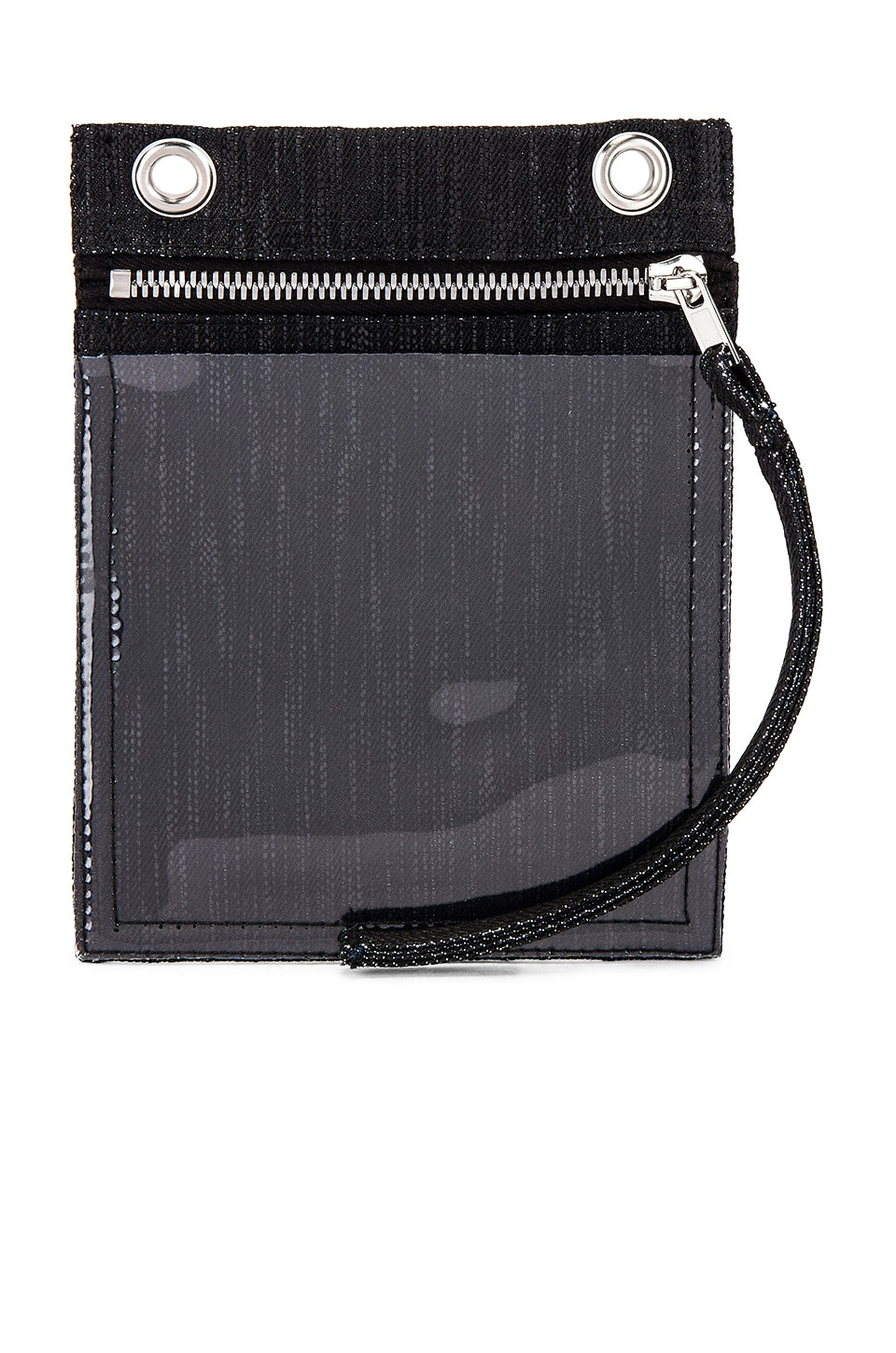 DRKSHDW by Rick Owens Security Pocket Bag in Black