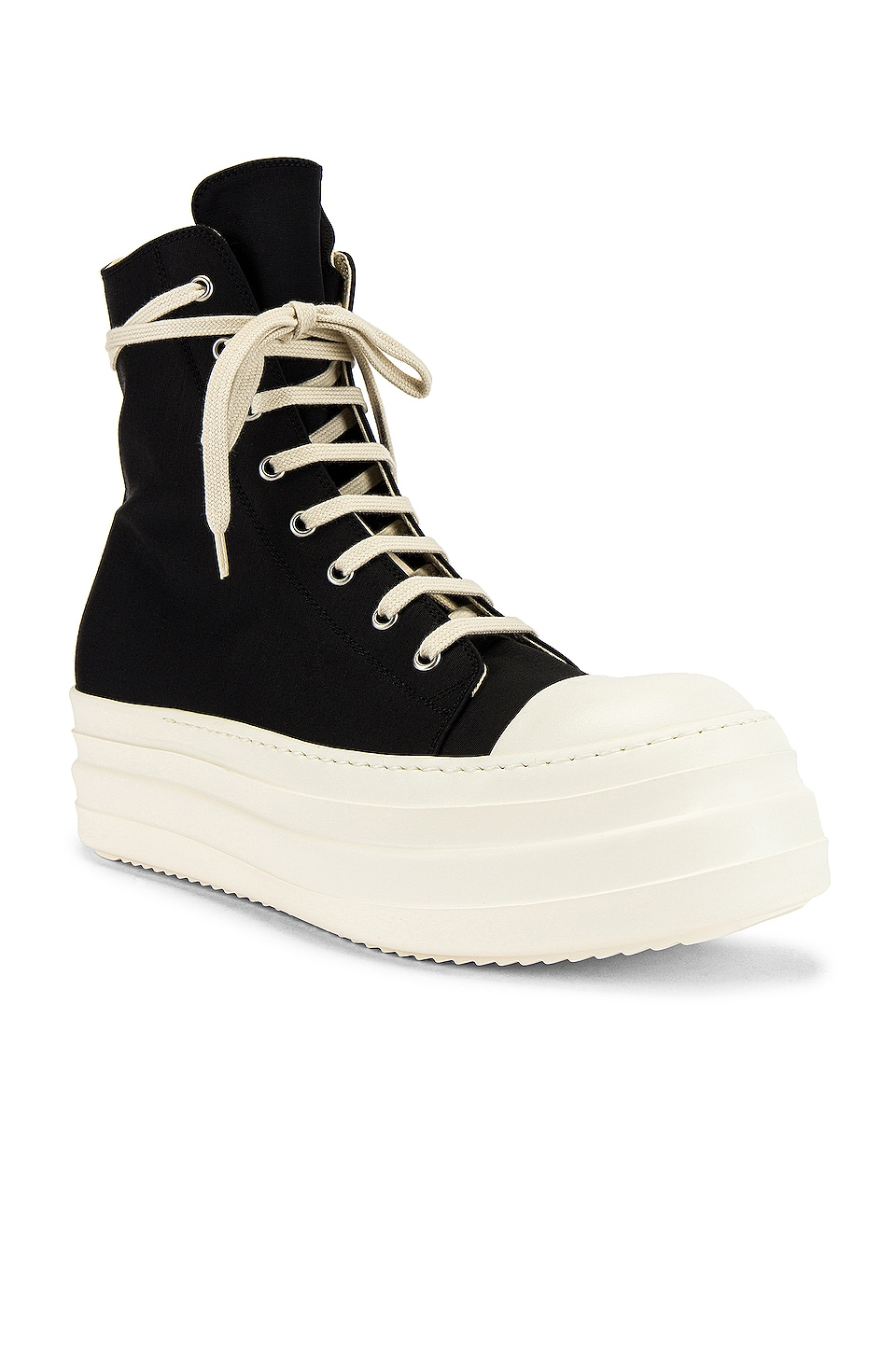 DRKSHDW by Rick Owens Double Bumper Beetle Sneakers in Black