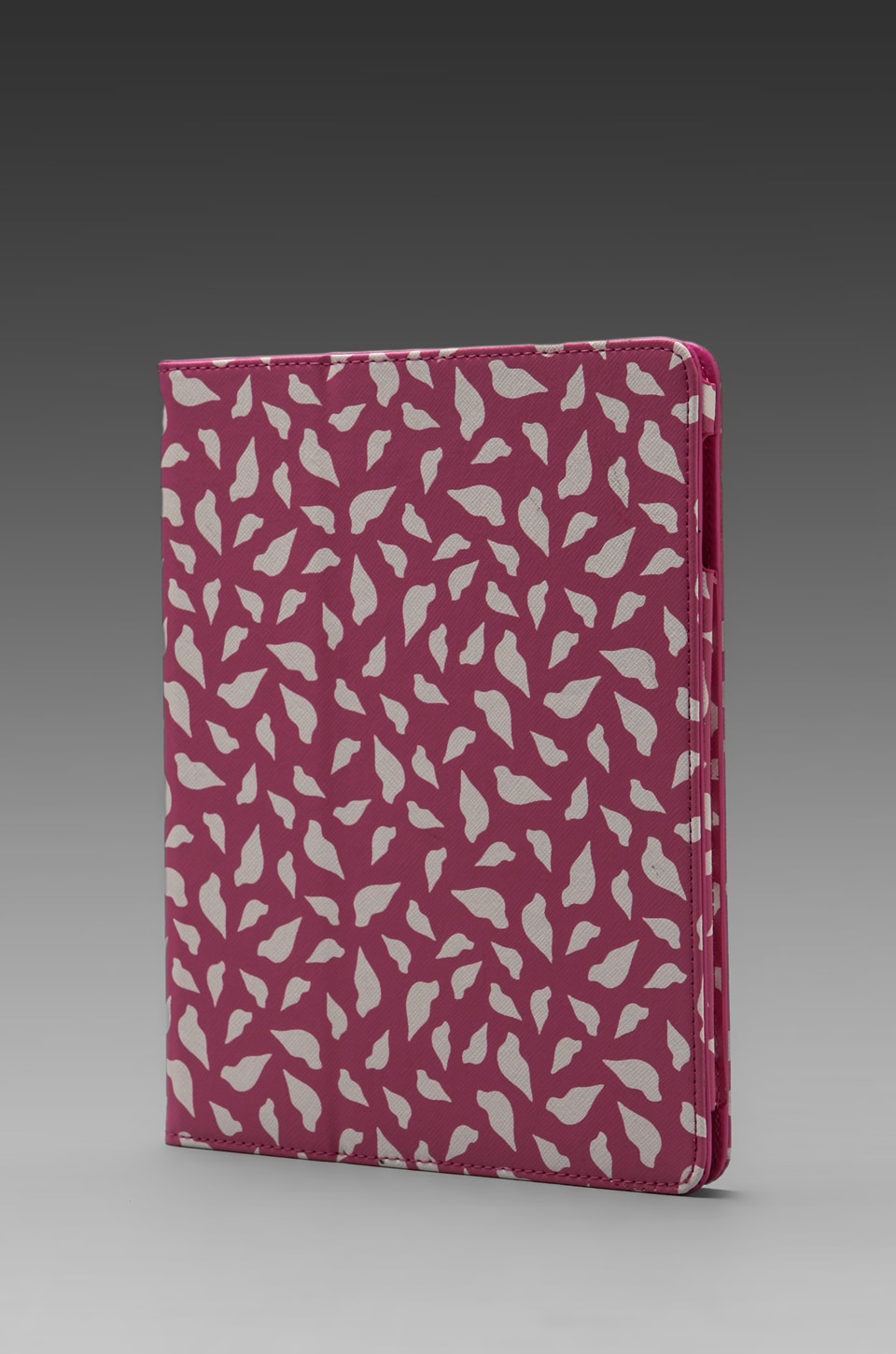 Diane von Furstenberg Printed Lips Ipad Book Cover in Pink/White