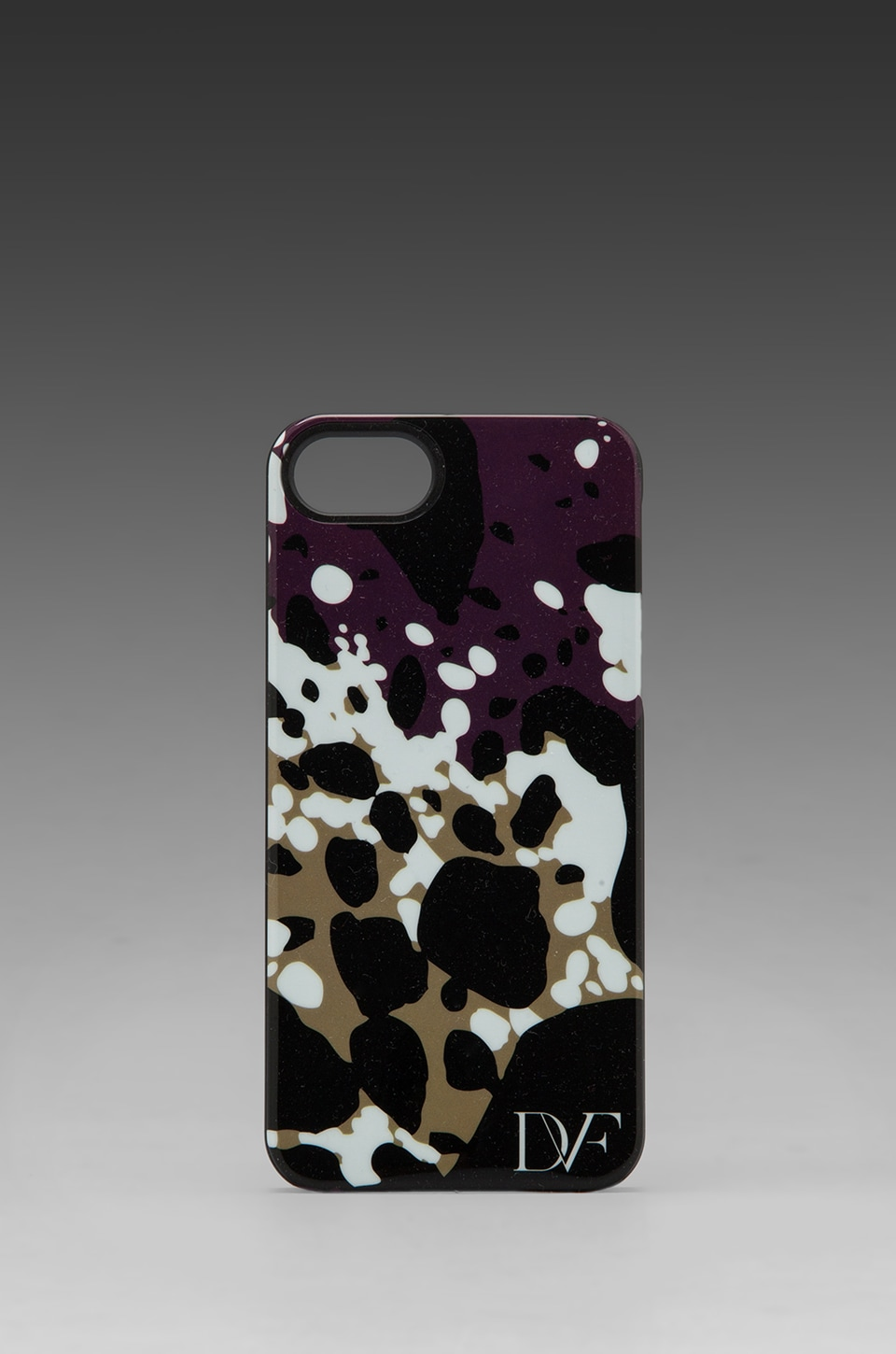Diane von Furstenberg Iphone 5 Case in Cheetah Splash Purple