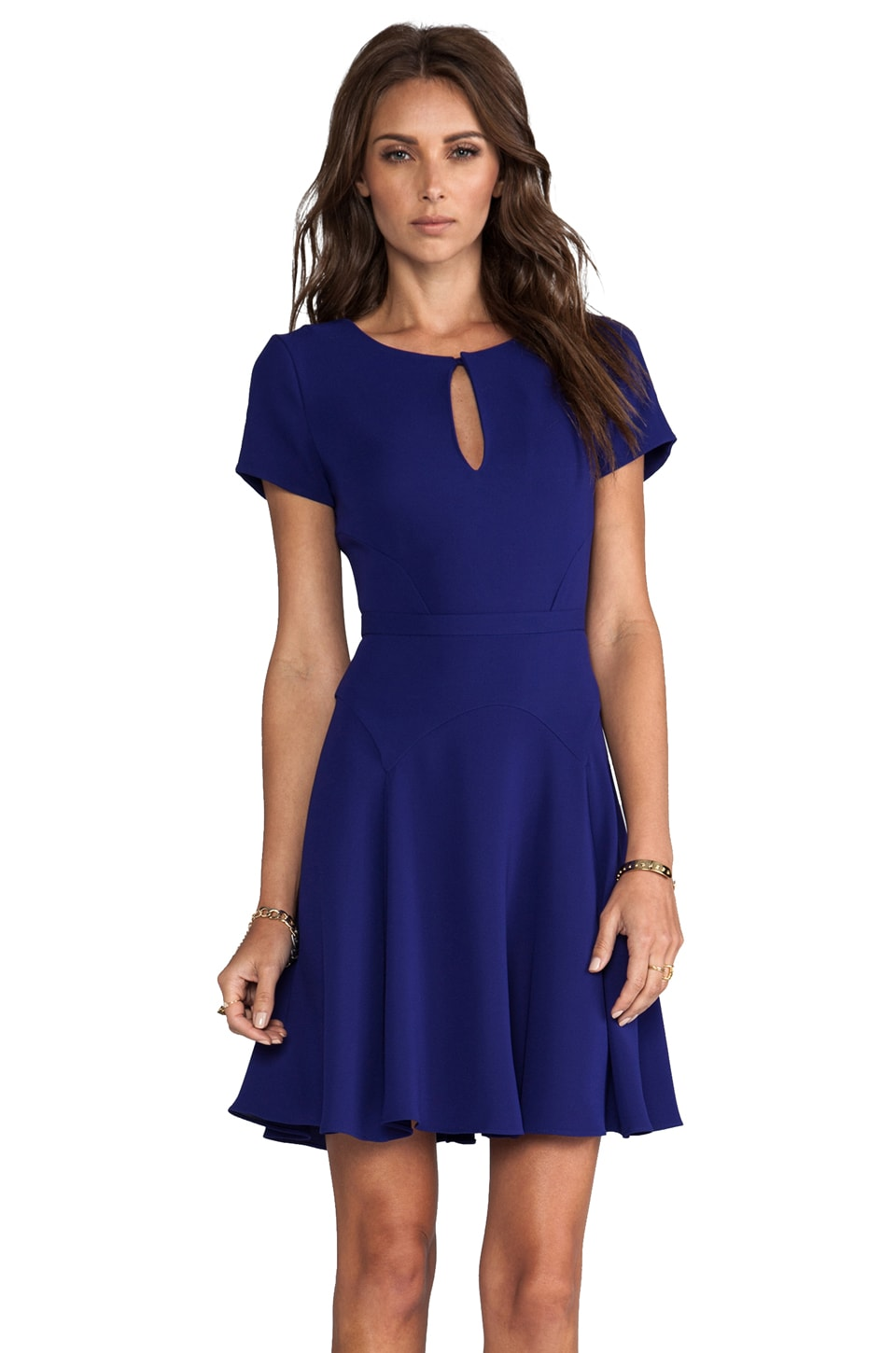Diane von Furstenberg Raizel Dress in Ultramarine
