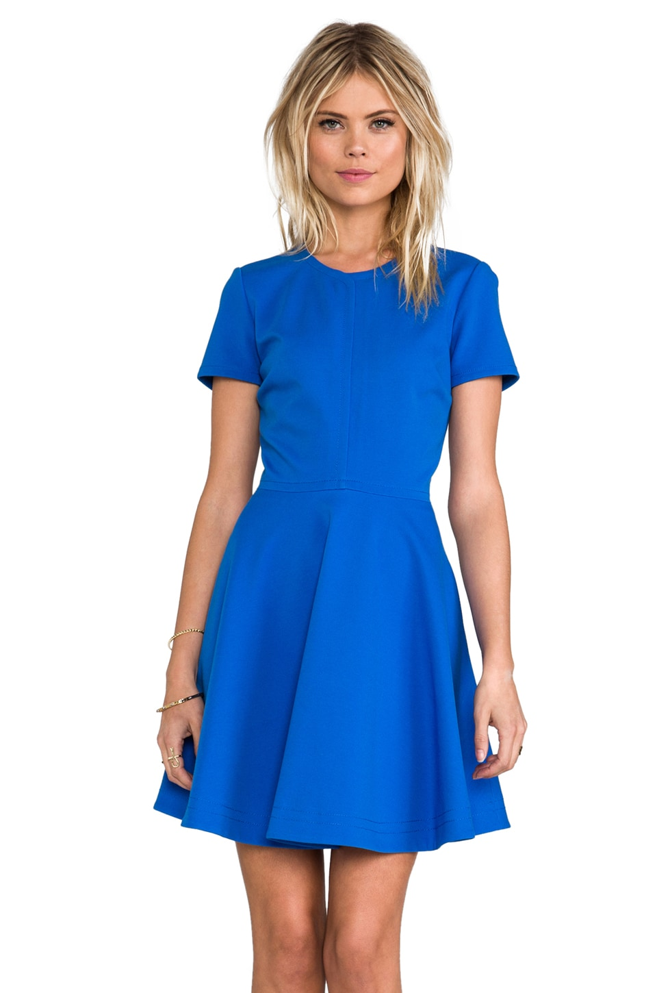 Diane von Furstenberg Ivana Dress in Blue Iris