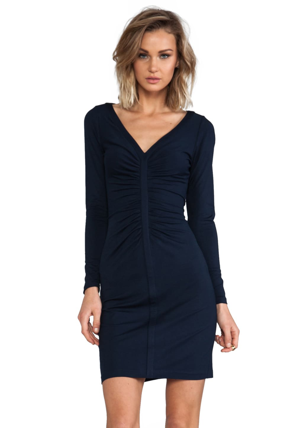 Diane von Furstenberg Greece Dress in Admiral Navy