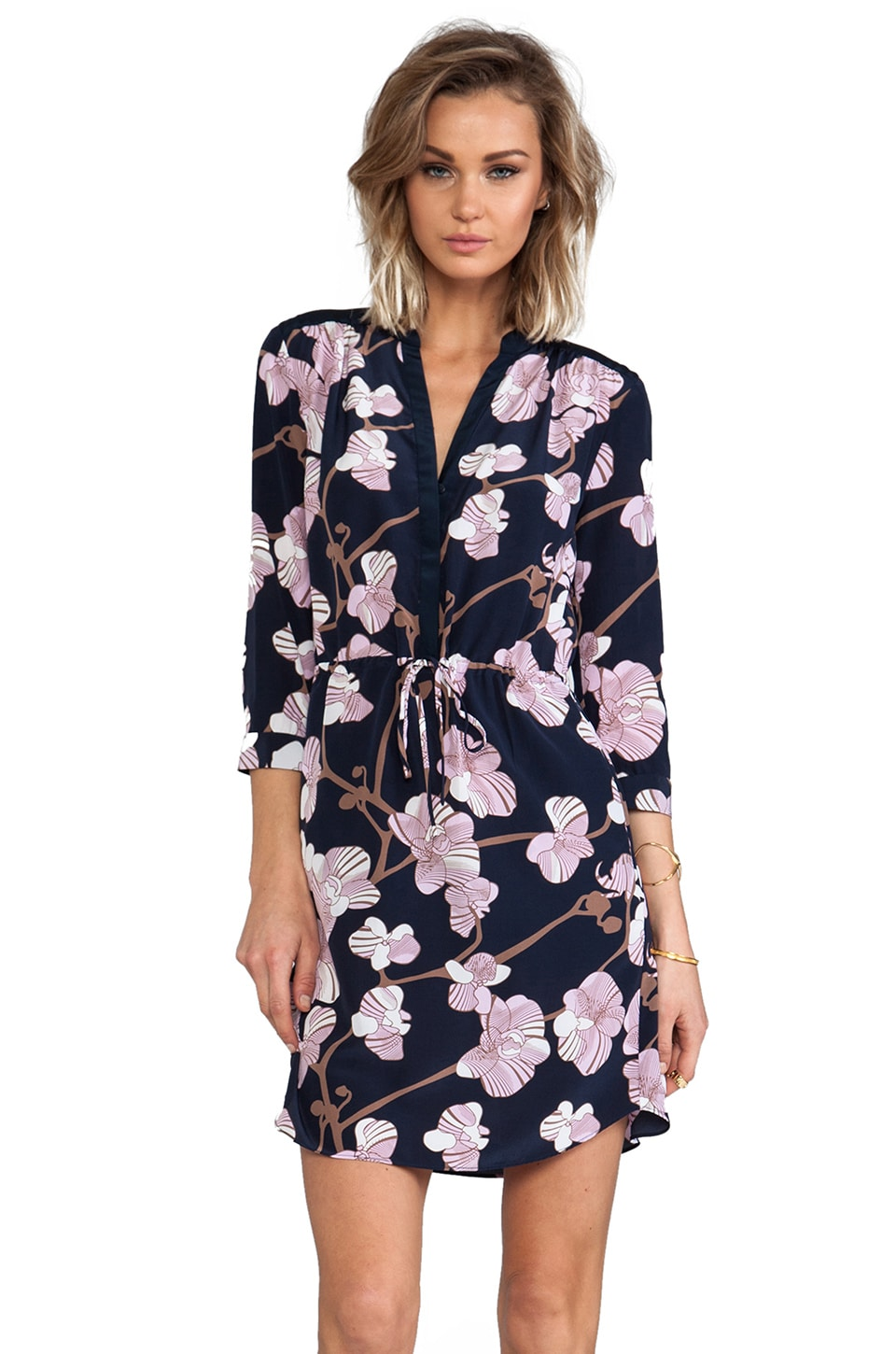 Diane von Furstenberg Freya Dress in Simple Orchid