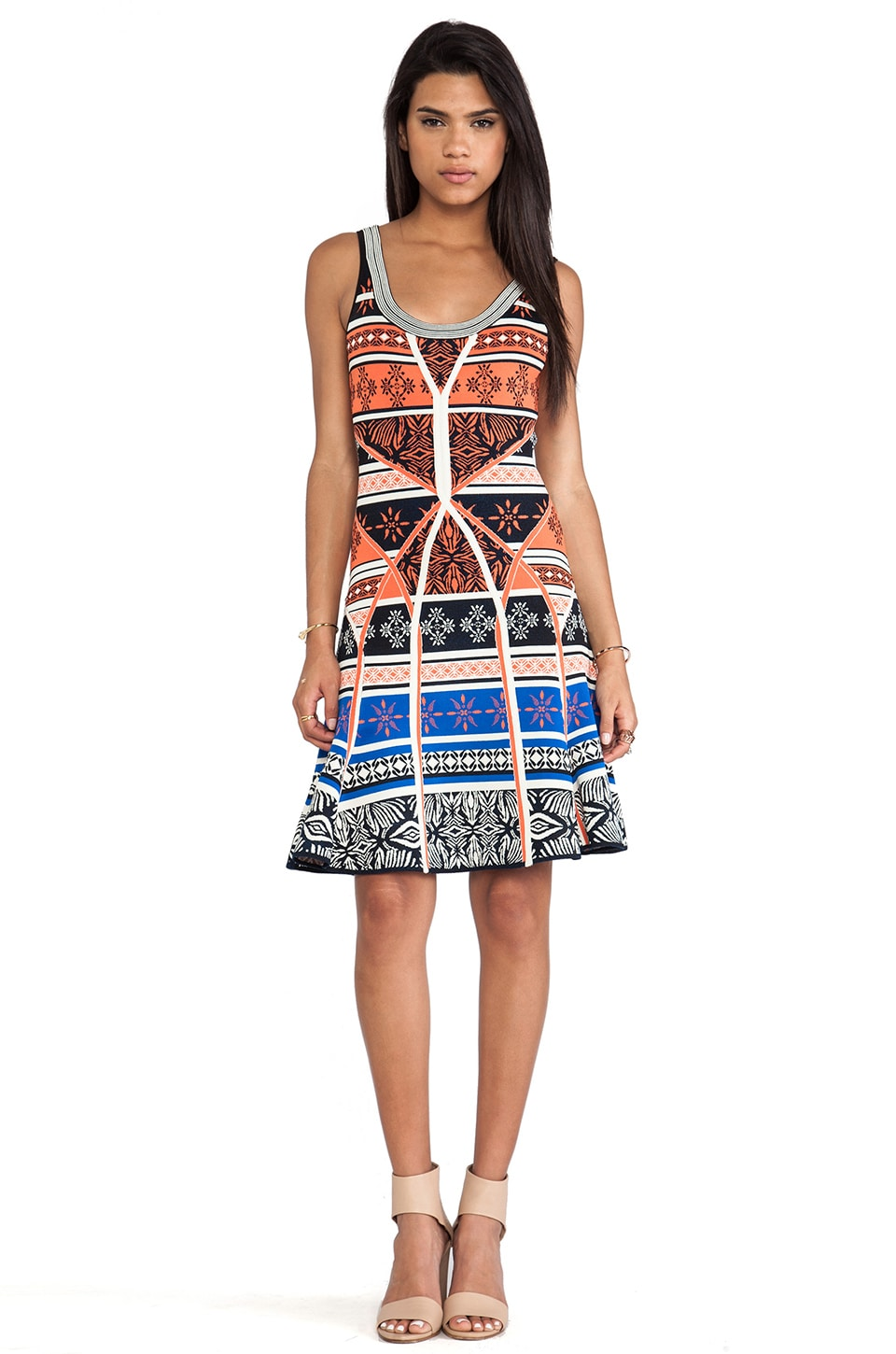 Diane von Furstenberg Ilsa Dress in Desert Sands