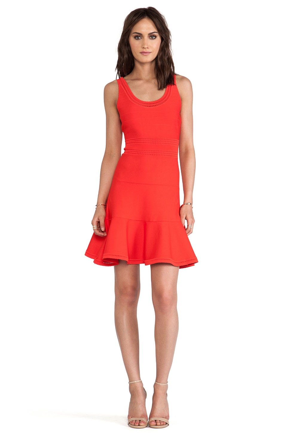 Diane von Furstenberg Perry Dress in Chilli Pepper