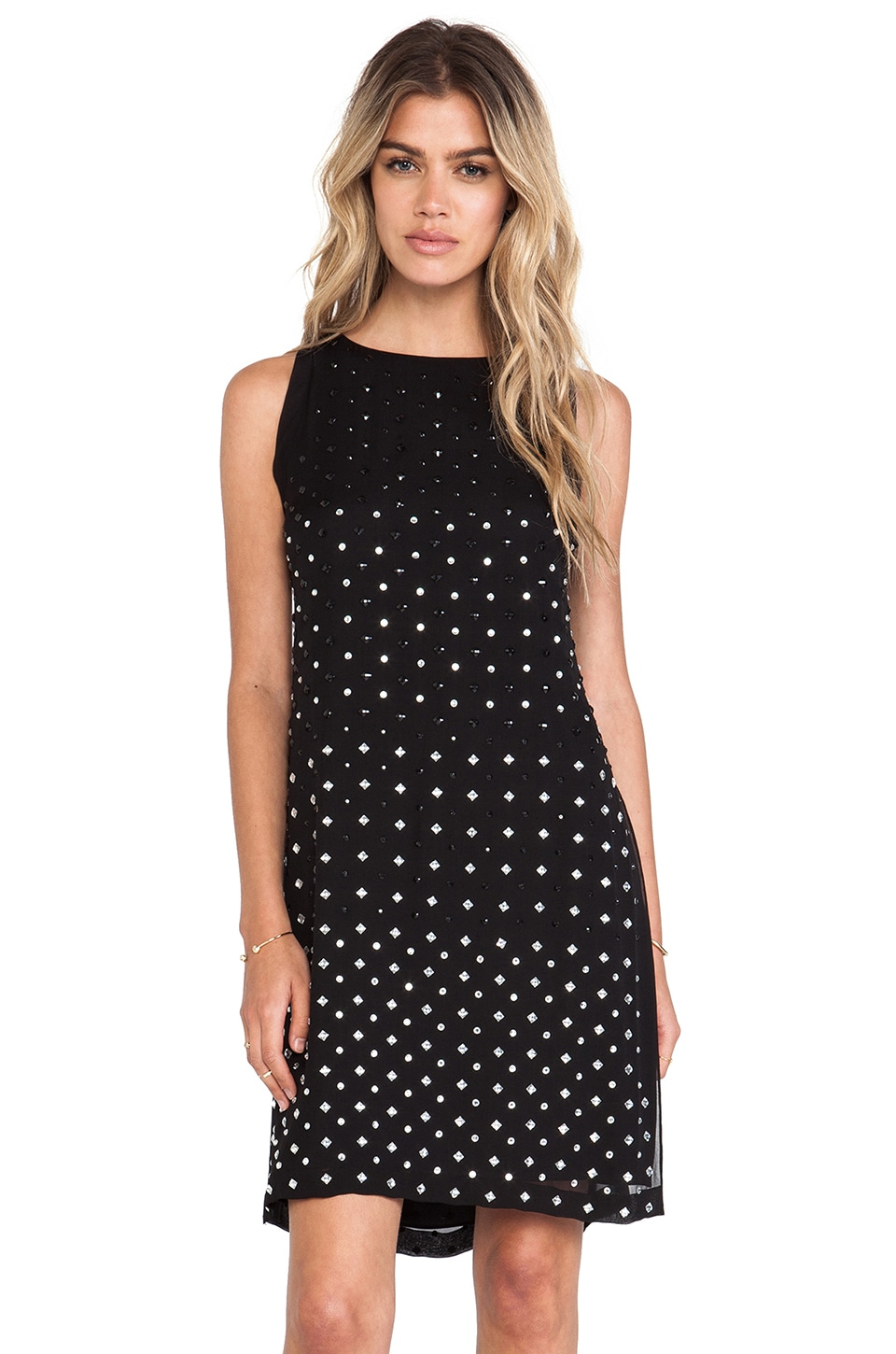 Diane von Furstenberg Ella Dress in Black
