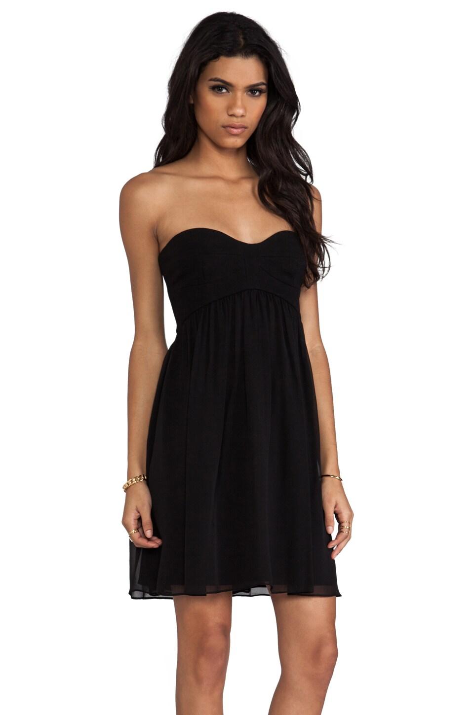 Diane von Furstenberg Asti Short Dress in Black
