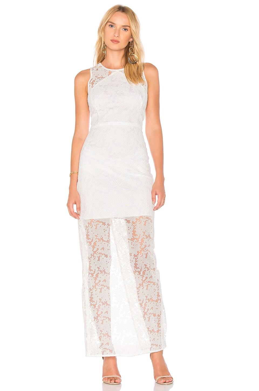 Paneled Overlay Gown by Diane von Furstenberg