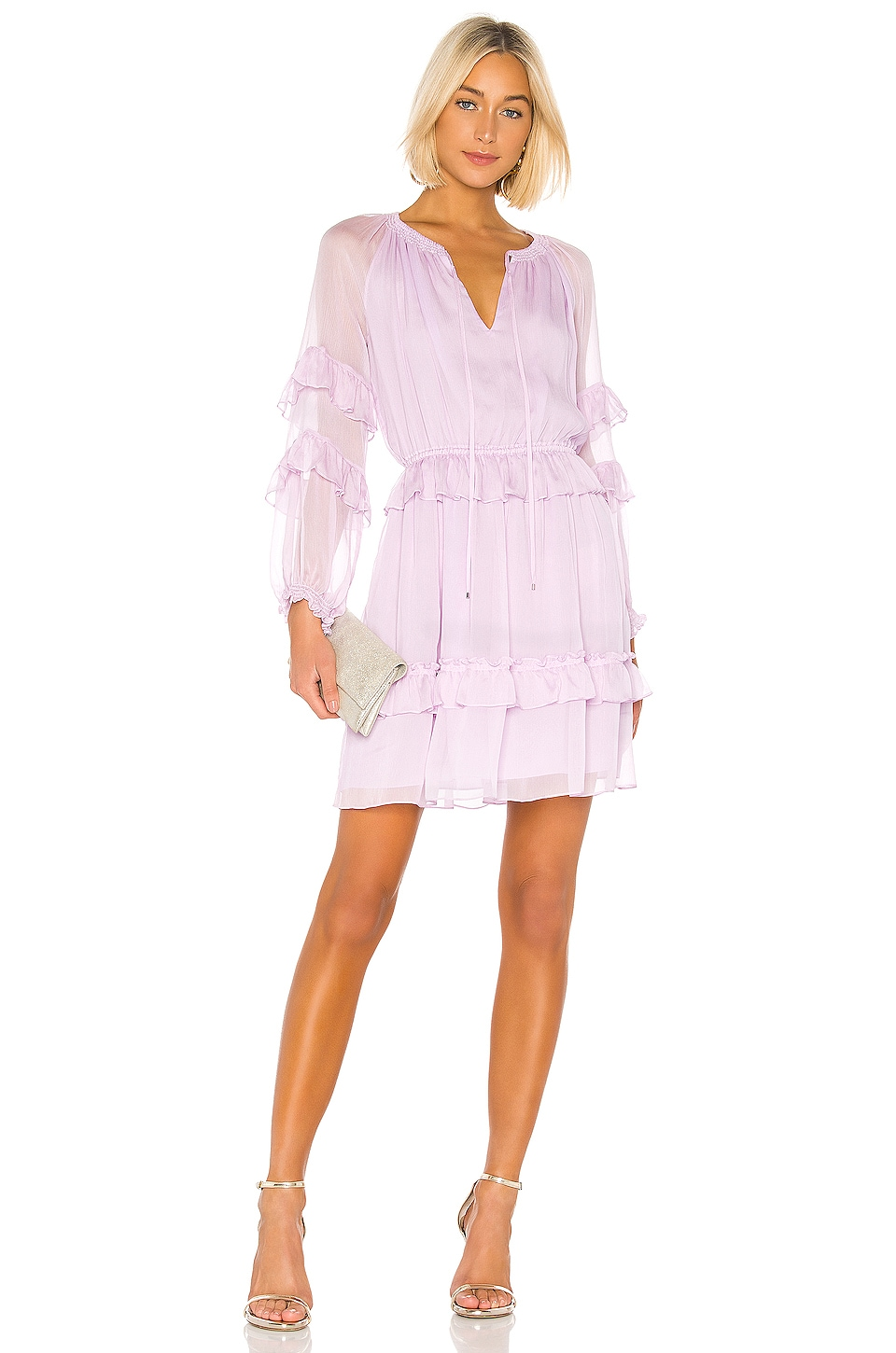 Diane von Furstenberg Haven Dress in Lavendula