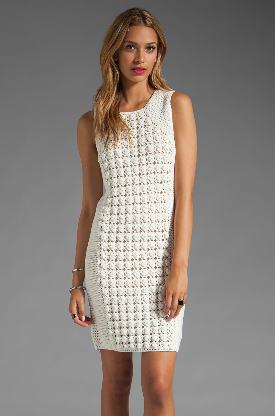 Diane von Furstenberg Thalia Dress in Sea Salt
