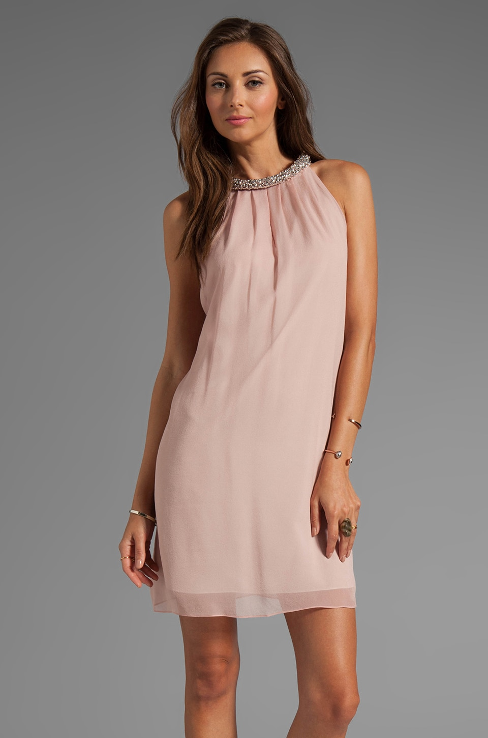 Diane von Furstenberg Lainey Dress in Blush