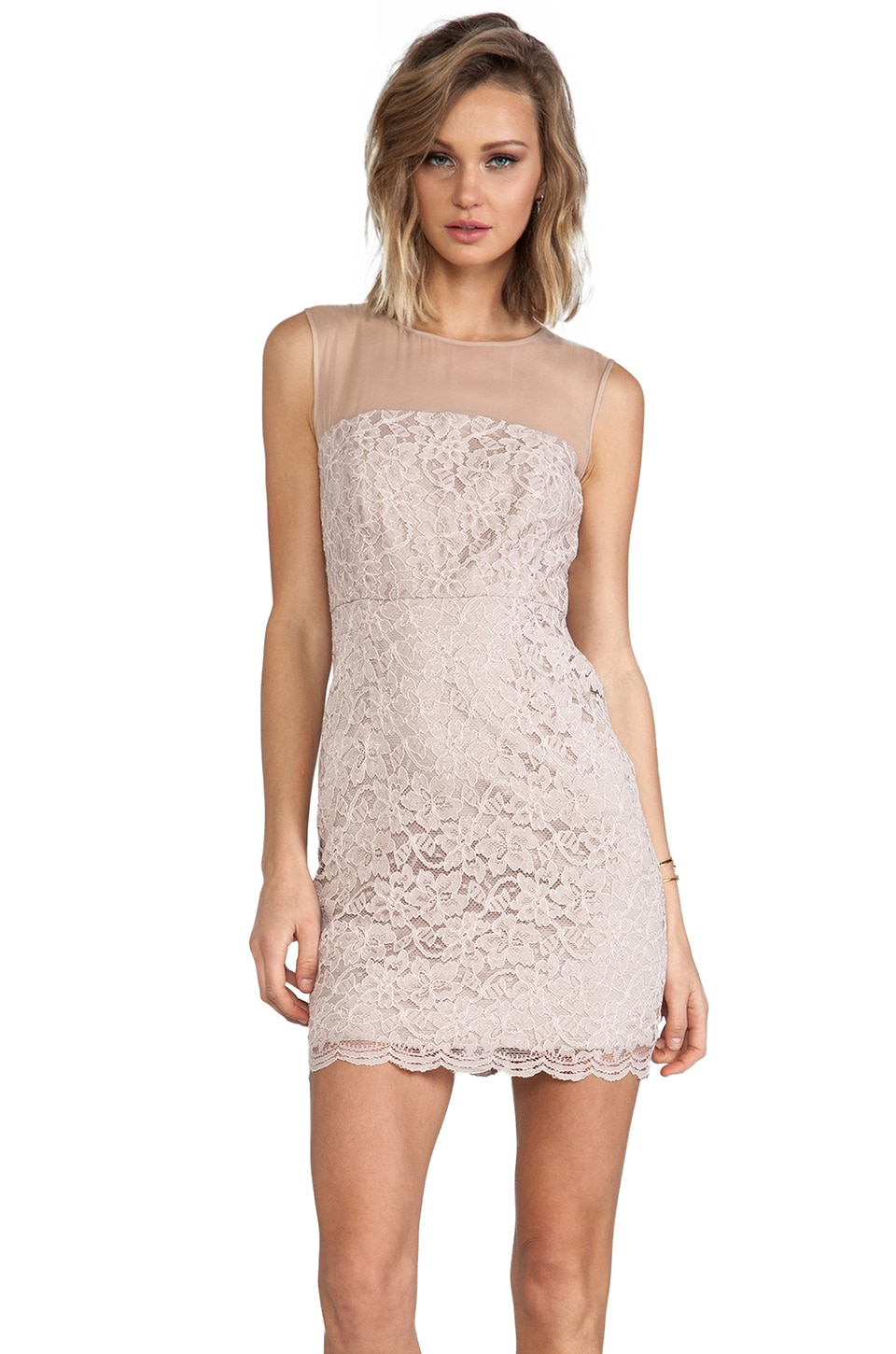 Diane von Furstenberg Nisha Dress in Nude