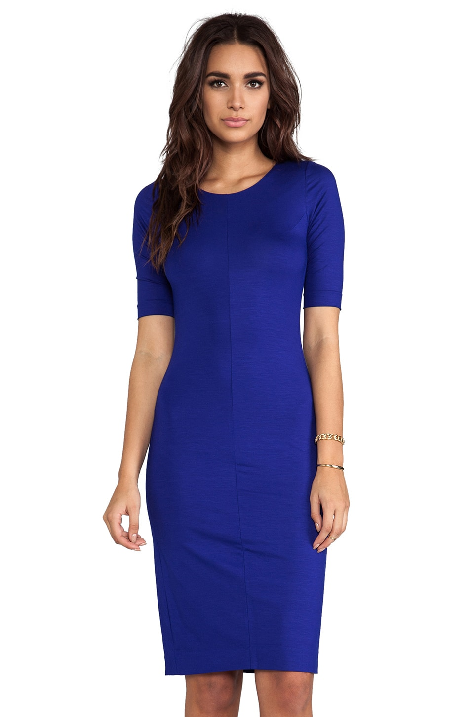 Diane von Furstenberg Raquel Dress in Tanzanite Blue