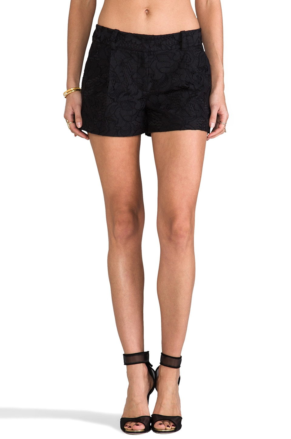 Diane von Furstenberg Naples Short in Black