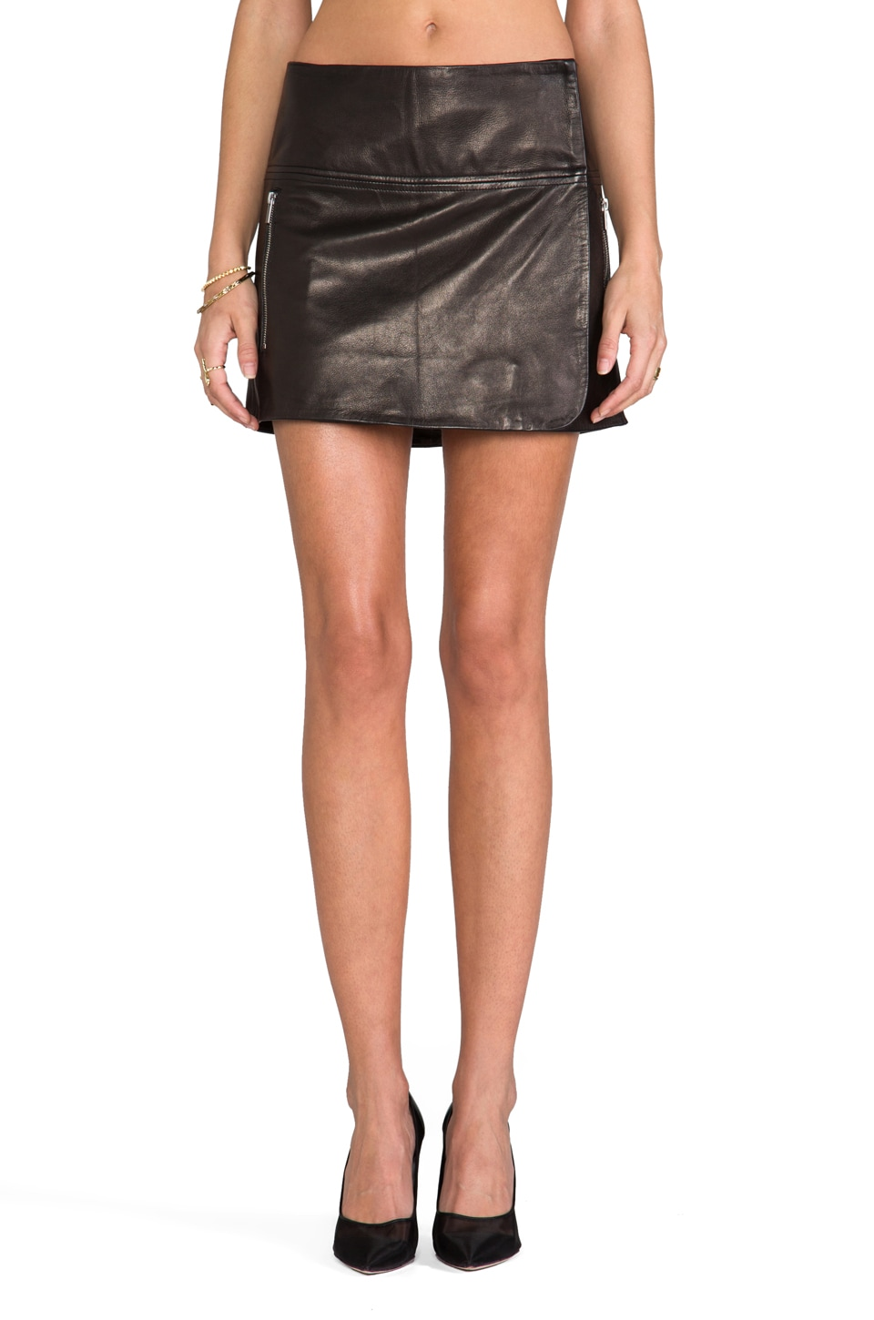 Diane von Furstenberg Liam Skirt in Black