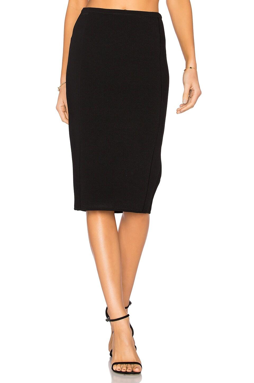 9f5fe86ed Diane von Furstenberg Knit Pencil Skirt in Black | REVOLVE