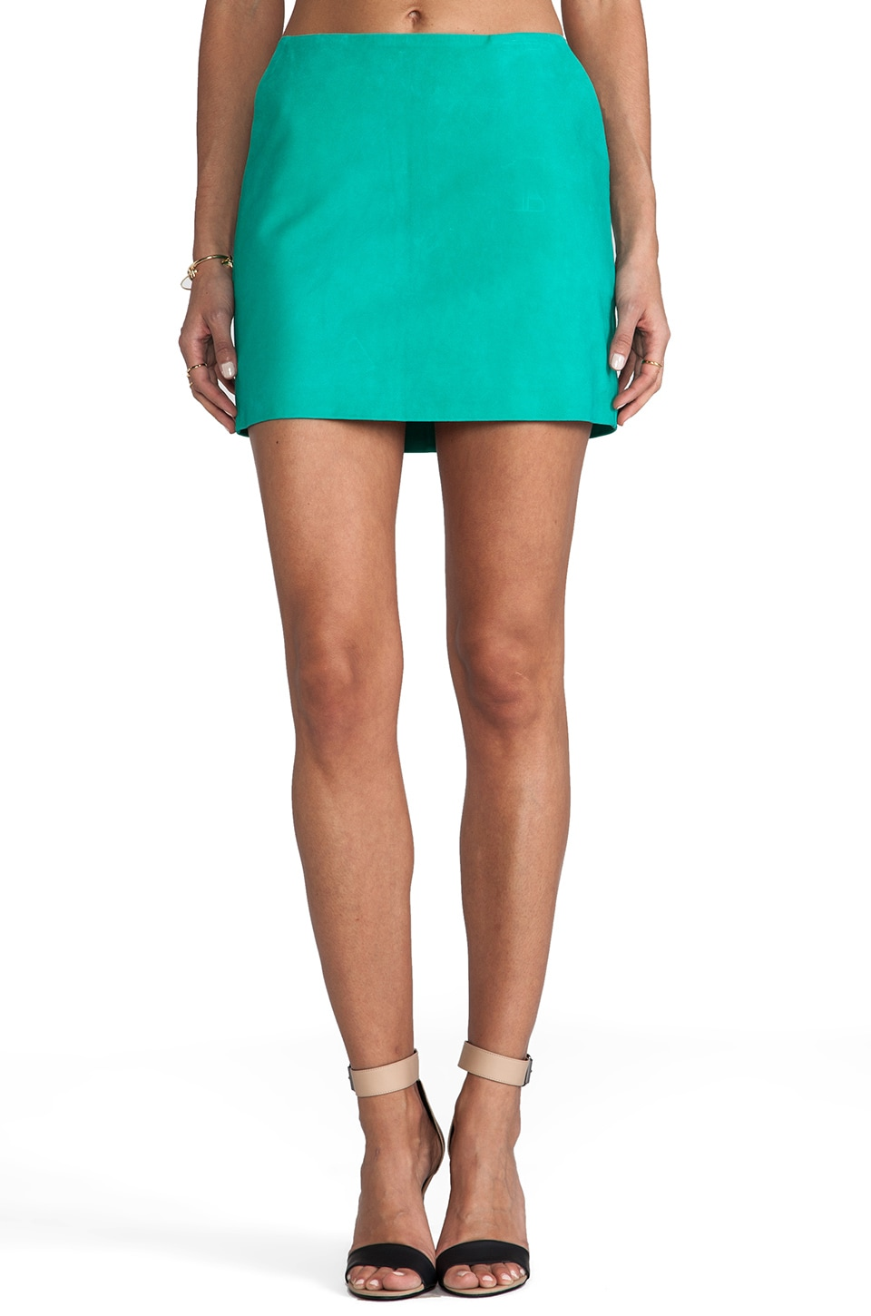 Diane von Furstenberg Jay Skirt in Bright Peacock