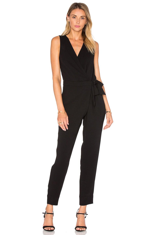 Diane von Furstenberg Cordia Jumpsuit in Black