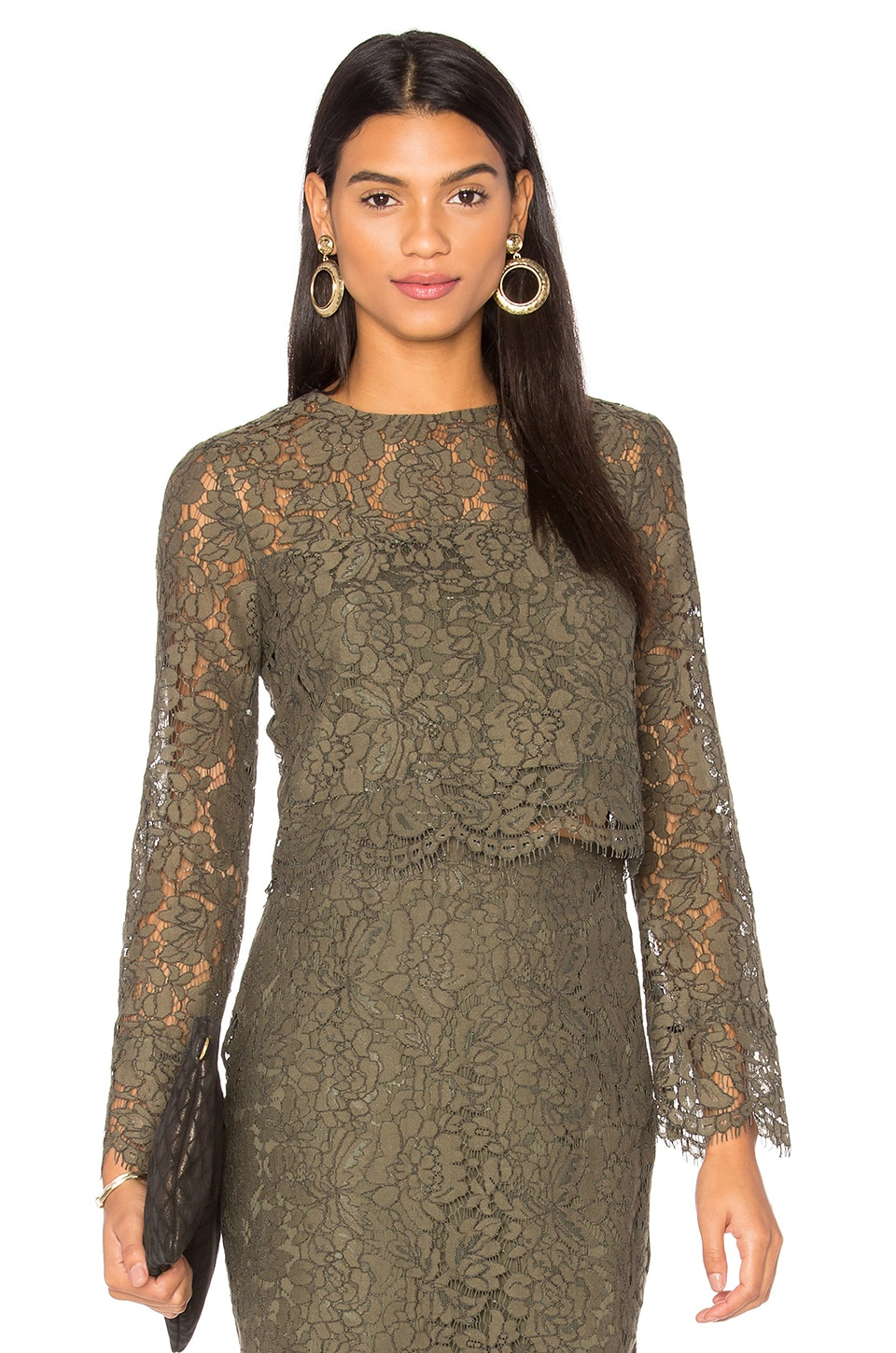 Yeva Lace Top by Diane von Furstenberg