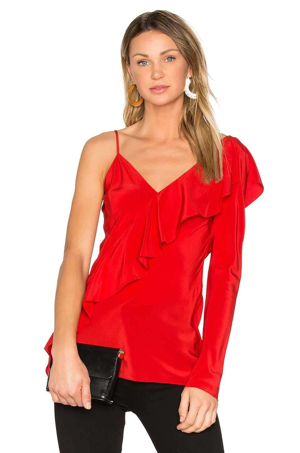 Photo of Ruffle Front Top by Diane Von Furstenberg on sale