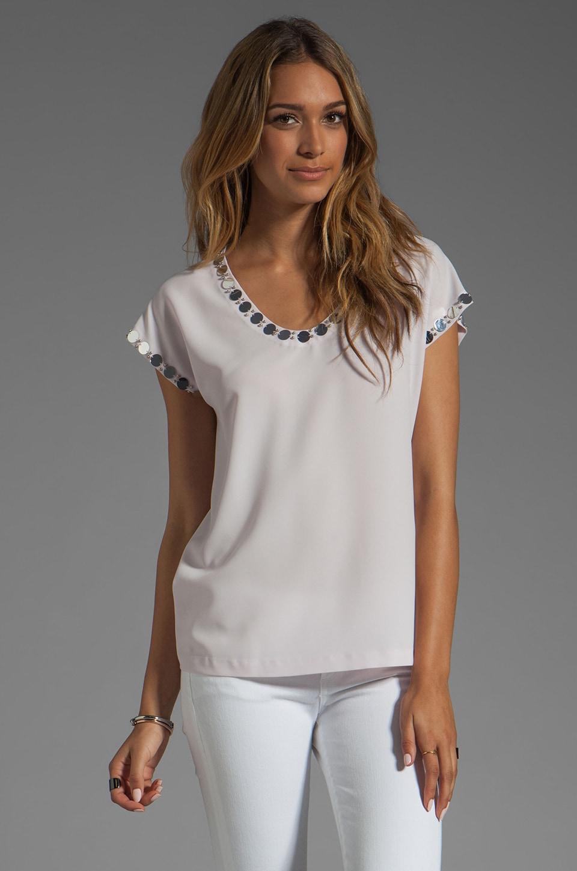Diane von Furstenberg Acedia Mirrors Shirt in Day Lily