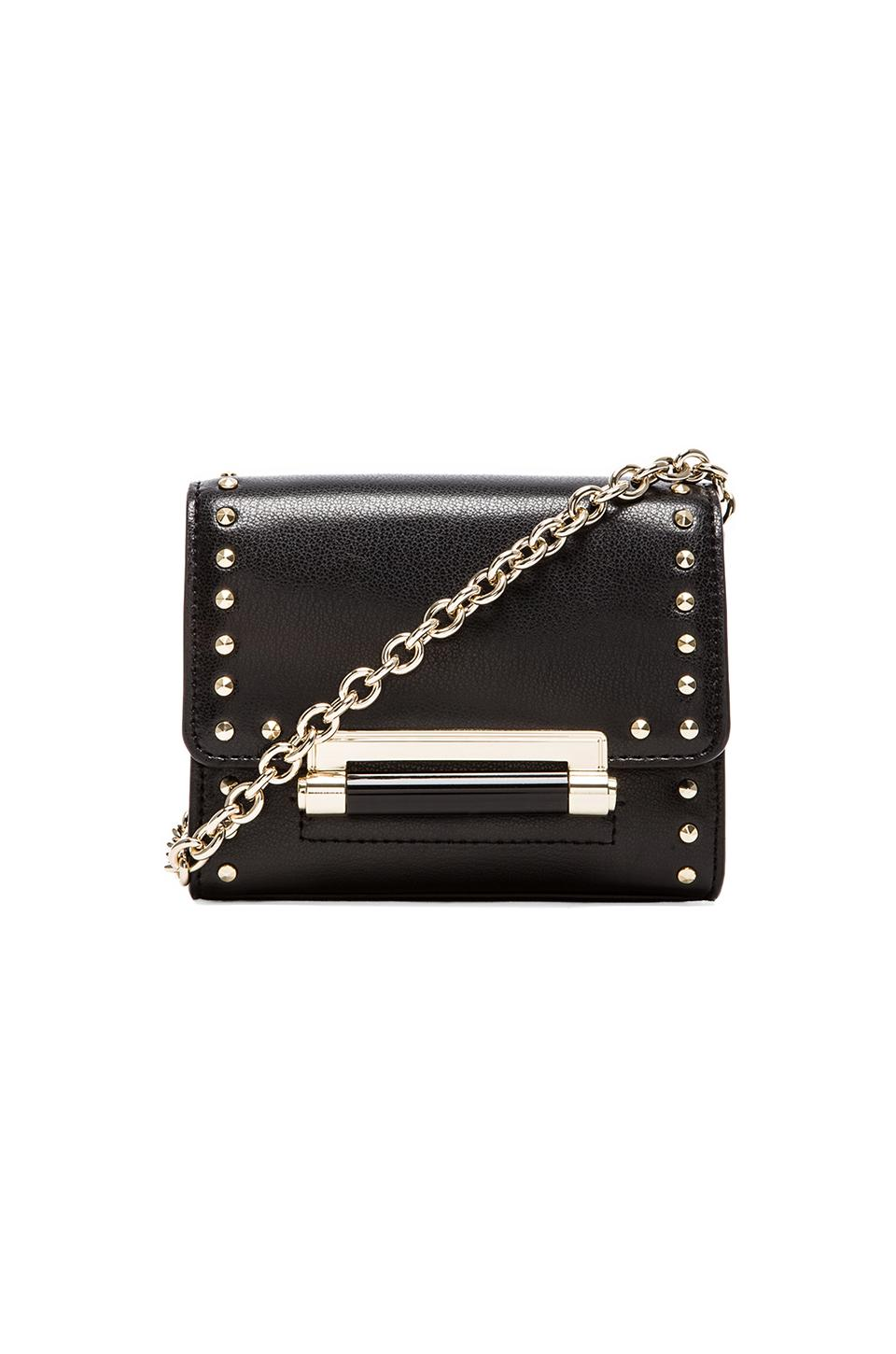 Diane von Furstenberg Highline Micro Mini in Black