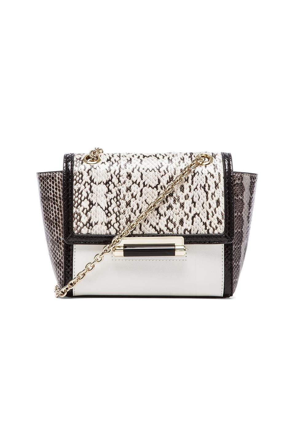 Diane von Furstenberg Mini Crossbody in Stone/Natural