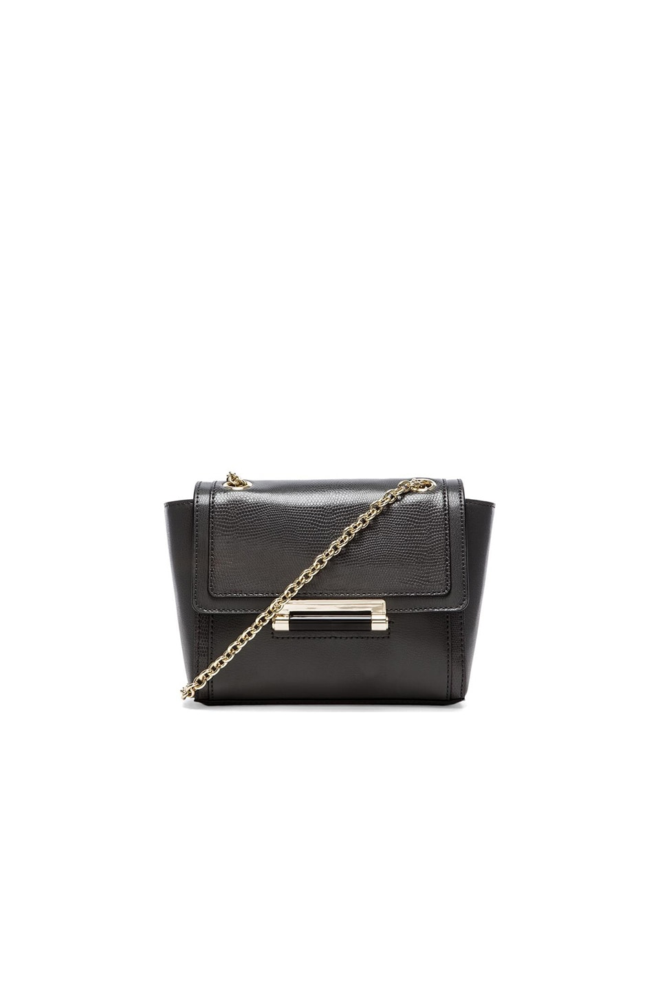 Diane von Furstenberg Mini Shoulder Bag in Flint